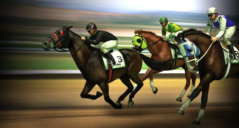 Virtual Horse Racing on Zoom